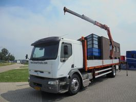 platform vrachtwagen Renault Premium 340 / Platform / Effer 170 Crane / NL Truck / Manual 1998