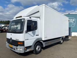 bakwagen vrachtwagen Mercedes-Benz 815 ATEGO MANUAL FULL STEEL SUSPENSION 2000