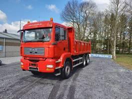 kipper vrachtwagen > 7.5 t MAN TGA 33 Double usage tracteur routier +camion benne(hardox)