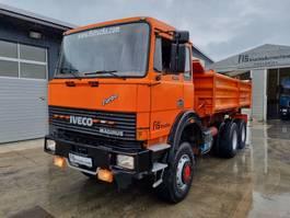 kipper vrachtwagen > 7.5 t Iveco 260.30 AH 6X6 meiller tipper 1988
