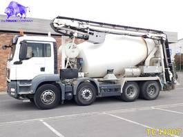 betonmixer vrachtwagen MAN TGX 32.440 Euro 5 2014