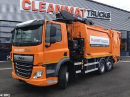 vuilniswagen vrachtwagen DAF CF 340 FAN Hiab 23 ton/meter laadkraan 2021