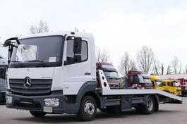 oprijwagen bedrijfswagen Mercedes-Benz 818 Autotransport Seilwinde original 93000Km E6 2015