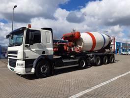 betonmixer vrachtwagen DAF I.C.M.  15m3 FLOOR TRAILER MIXER 1997 2009