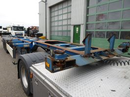container chassis oplegger D-TEC UL 9401,20,30,40,45 voet,schuiver 1995