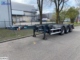 container chassis oplegger Burg Chassis 10/20/30 FT, Hydraulic Liquid Pump 1996