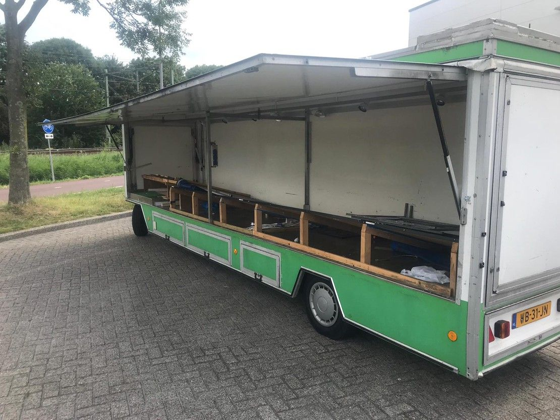 overige aanhangwagen de Vries JW300 1989