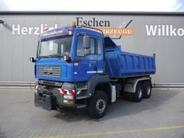 kipper vrachtwagen > 7.5 t MAN TGA 26.390 6x6, 3 Seiten Kipper 2006