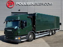 bakwagen vrachtwagen Scania P320 Hydr. opening site 2014