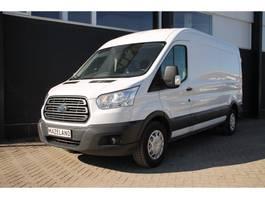 gesloten bestelwagen Ford Transit 2.0 TDCI 130PK L3H2 - Airco - Navi - Cruise - € 15.900,- Ex 2017