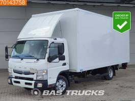 bakwagen vrachtwagen Mitsubishi Fuso 7C18 4X2 Manual Ladebordwand Euro 6 2017