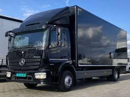 bakwagen vrachtwagen Mercedes-Benz 1224L EURO6. Aut. 720x249x250 Bakwagen met Laadklep. 2014