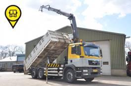 kipper vrachtwagen > 7.5 t MAN TGM 26.290.EURO5.KIPPER+HMF 15.T/M 2013