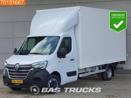 gesloten bestelwagen Renault Master 2.3 dCi 165PK Dubbellucht Laadklep Bakwagen Zijdeur Navi Airco A/C Cruis... 2021