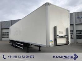 gesloten opbouw oplegger Groenewegen DRO-14-27 / 3 as BPW Drum / Box / Loadlift 2500 kg / APK 08-21 2008