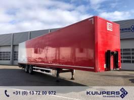 gesloten opbouw oplegger Kögel S18 / 2 axle SAF Disk / Box / Loadlift 2000 kg / APK TUV 10-21 2007