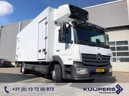 koelwagen vrachtwagen Mercedes-Benz Atego 1324 / 640 km ! / Carrier 2 Temp / IsoBox 2 Comp. 2012 / Bar Laadklep 2018