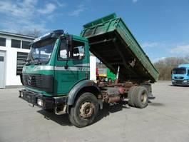 kipper vrachtwagen > 7.5 t Mercedes-Benz 1722 AK SK 4x4 Meiller Kipper Hydr. f. Anhänger 1993