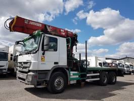 houttransporter vrachtwagen Mercedes-Benz Actros 3351 ACTROS 3351 KN 6x4 V8 + JONSERED 2490.78 2009