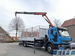 open laadbak vrachtwagen Renault Lander 310 - Palfinger 12tm kraan - 312500 km - ZF8 2012