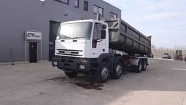 kipper vrachtwagen > 7.5 t Iveco Eurotrakker 340 E 34 (GRAN PONT / SUSPENSION LAMES / POMPE MANUELLE) 1997