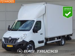 gesloten bestelwagen Renault Master 2.3 DCI 165PK Laadklep Bakwagen Dubbellucht Zijdeur Airco Navi Cruise A/... 2017
