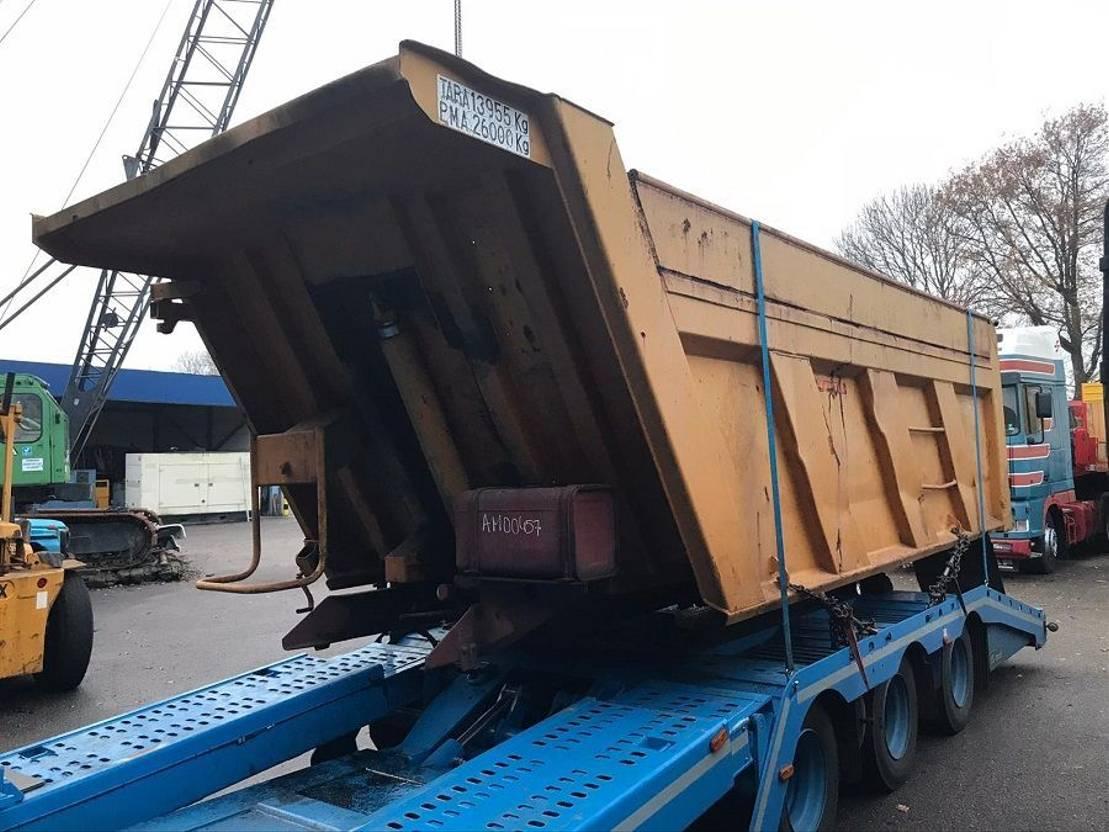 Kipperbak vrachtwagen onderdeel Meiller 1993