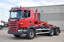 containersysteem vrachtwagen Scania R 500 V8 6x4 CONTAINER SYSTEEM- CONTAINER SISTEEM- CONTAINER HAAKSYSTEEM- SYSTEME CONTENEUR 2006