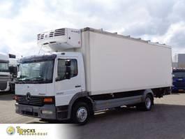 koelwagen vrachtwagen Mercedes-Benz Atego 1223 Manual + Thermo King TS-500 + Dhollandia Lift 2005