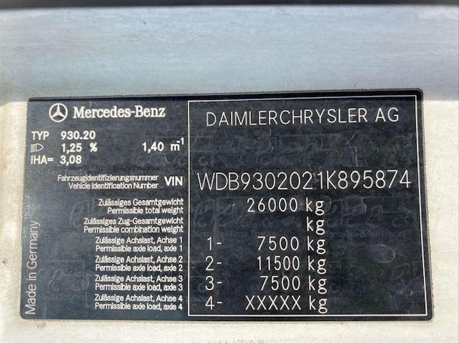Mercedes-Benz - 6X2 Lenk+Liftachse/ADR/14000 Liter 14
