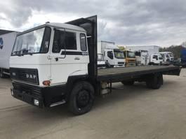 open laadbak vrachtwagen DAF 1600 **FULL STEEL-ONLY 87000KM-TOPSHAPE** 1985