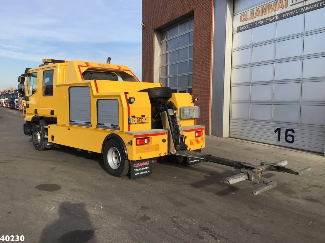 takelwagen-bergingswagen-vrachtwagen Iveco EuroCargo 120 120EL20 CNG Falkom Abschlepp 2014