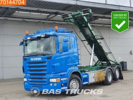 containersysteem vrachtwagen Scania R480 6X2 6x2*4 Lift+Steering Axle 3-Pedals 2008
