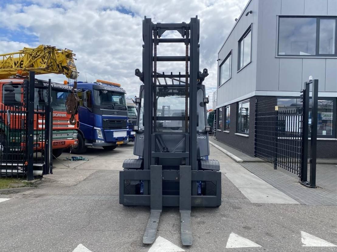 vorkheftruck Linde H80D - 8,5 METER HEIGHT 2012