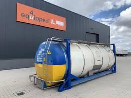tankcontainer Van Hool 20FT, swapbody TC 28.200L, L4BN, UN PORTABLE, T7, CSC: 11/2022 2003