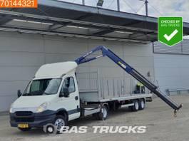 be trekker bedrijfswagen Iveco Daily 40C17 BE 10Tons trekker Combinatie 4T/M kraan, 6300kg laden Cruise... 2012