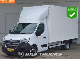 gesloten bestelwagen Renault Master 2.3 dCi 165PK Dubbellucht Bakwagen Laadklep Zijdeur Navi Airco Cruise A/... 2021