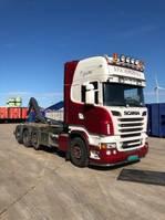 containersysteem vrachtwagen Scania R620 8x2/4 Slechts 229.580 km!!!!! 2012