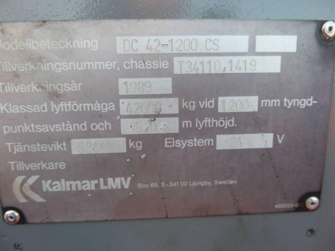 vorkheftruck Kalmar DC 42-1200 1989