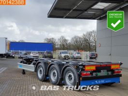 container chassis oplegger D-TEC Portmaster PM-3-S 3 axles *New Unused* Flexilock Liftaxle 2021
