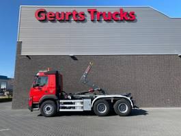 containersysteem vrachtwagen Volvo FMX 500 6X4 HIAB HAAKARMSYTEEM/HOOKLIFT/ABROLLKIPPER 2015