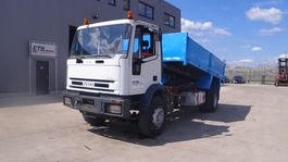kipper vrachtwagen > 7.5 t Iveco Eurocargo 180 - 23 (STEEL SUSP. / MANUAL PUMP) 1998