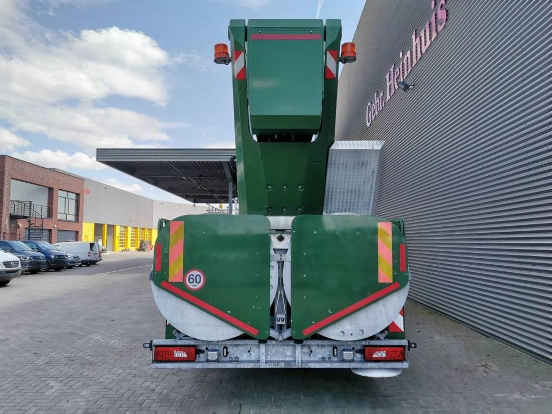 autohoogwerker vrachtwagen Scania P410 8x2 Euro 6 Palfinger P750 75 Meter! 2016