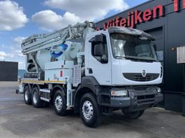 betonpomp vrachtwagen Renault Kerax 430 DXI - 8X4 SCHWING 21 METERS PUMP MIXER - EURO 5 - EEV 2014