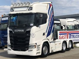 standaard trekker Scania S580 V8 NEXT GEN 6x2 RETARDER 2016