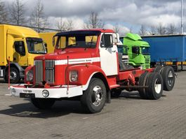 chassis cabine vrachtwagen Scania LS 85 6X2 CHASSIS 1973