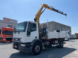 kipper vrachtwagen > 7.5 t Iveco EuroCargo 180 Eurocargo 180E28 EFFER 110/3S 2003