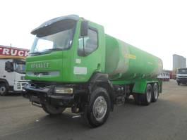 tankwagen vrachtwagen Renault Kerax 350 6X4 2005