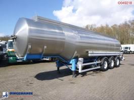 tankoplegger Magyar Fuel tank inox 37.5 m3 / 7 comp 1997