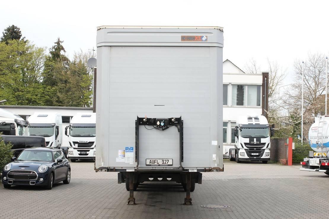 huifzeil oplegger Kögel Standard/Edscha/Speed curtain/Fast slider/LaSi 2013